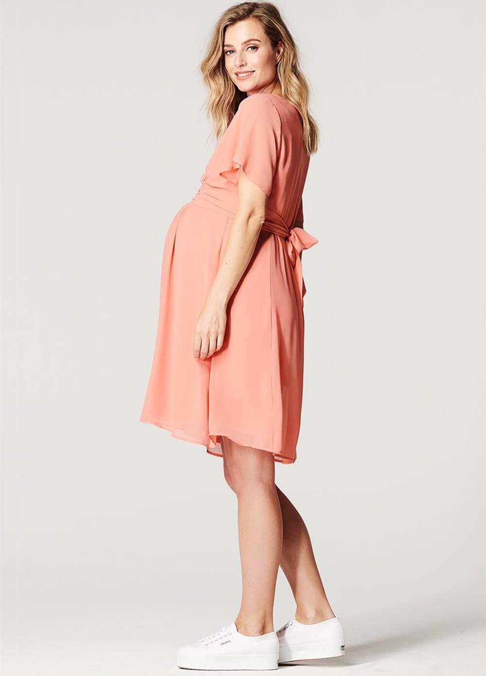 Noppies - Lantana Blossom Chiffon Maternity Dress | Queen Bee