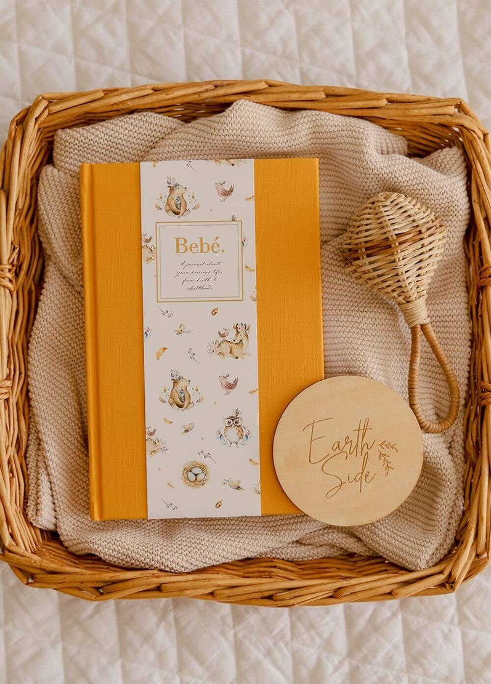 Truly Amor - Bebé Baby Book in Amber | Queen Bee