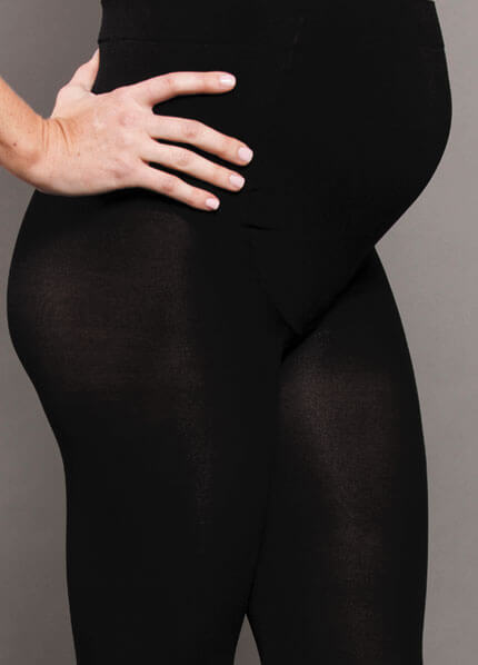 aa10940673ad9 Opaque Baby Bump Maternity Tights by Ambra