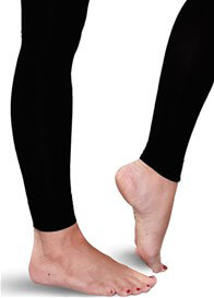 7f6eb6600e0ed Maternity Compression Footless Tights in Black by Preggers