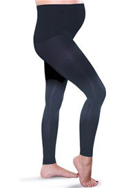 Preggers - Compression Leggings in Navy