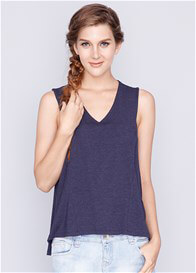 Dote - Daphne Nursing Tank in Navy