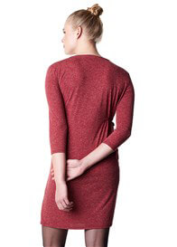 Noppies - Elli Warm Red Melange Dress