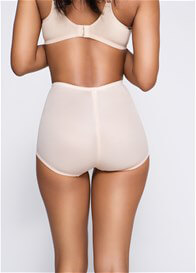 Leona Retro Waist Control Brief in Beige