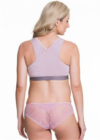 Cake Maternity - Milk Bamboo Nursing Sleep Bra in Mauve