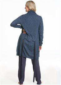 Cake Maternity - Gateau Knit Robe in Navy