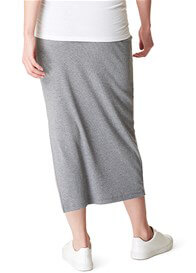 Supermom - Grey Side Split Maxi Skirt