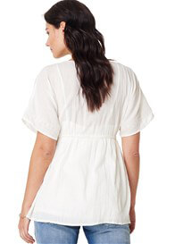 Noppies - Iry Embroidered Boho Blouse in Off White - ON SALE