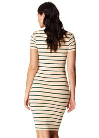 Noppies - Lotus Dress in Green Stripes