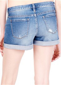 Ingrid & Isabel - Mia Distressed Denim Shorts