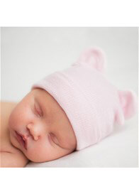 Ilybean - Pink Bear Hat