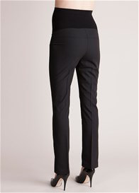 Seraphine - Sofia Black Straight Leg Trousers