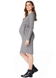 Noppies - Giulia Knit Nursing Dress in Grey