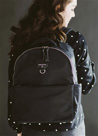 TWELVE little - On-The-Go Backpack in Black