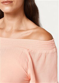 Esprit - Off-Shoulder Top in Rose