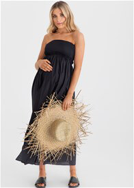 Legoe - Cuba Maxi Dress in Black