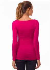 Pomkin - Milkizzy Prisca Breastfeeding Top in Fuchsia