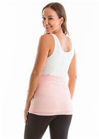 QueenBee® - Ellia Belly Band in Pink Stripes