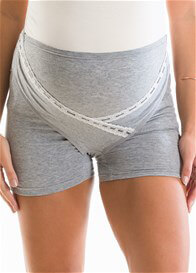 QueenBee® - Tiana Adjustable Support Shorts in Grey