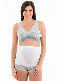 Preggers - Maternity Support Band in White
