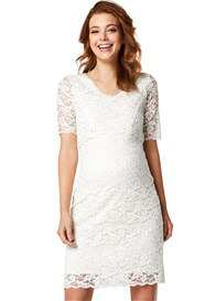 Queen mum - Snow White Lace Nursing Dress