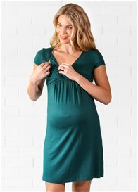 Lait & Co - Baptiste Nursing Dress in Emerald