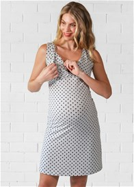 Lait & Co - Jonquil Nursing Sleep Set in Grey Polkadot