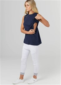 Legoe - The Nursing Tank in Navy