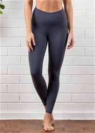 QueenBee® - Ivy Everyday Post Maternity Legging in Carbon
