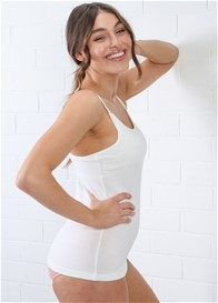 QueenBee® - Romily Nursing Camisole in White