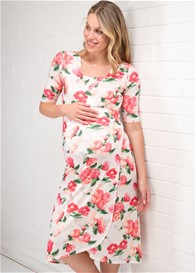Floressa - Amaliya Pregnancy & Nursing Wrap Dress