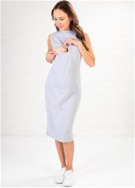 Lait & Co - Josselin Sleeveless Feeding Dress in Grey