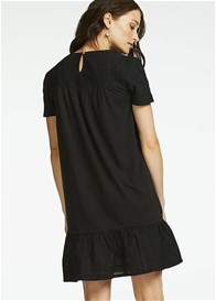 Queen mum - New York Nursing Dress in Black