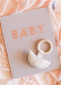 Fox & Fallow - Baby Book for Girls in Natural