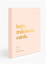 Fox & Fallow - Baby Milestone Cards in Cream