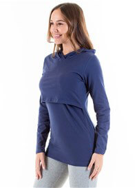 Lait & Co - Billey Breastfeeding Hoodie in Blue - ON SALE