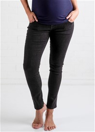 Lait & Co - Christophe Ankle Jeans in Washed Black