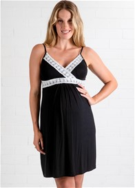 Lait & Co - Moselle Black Nursing Chemise