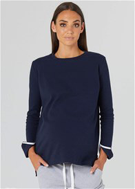 Legoe - Rancho Relaxo Nursing Jumper in Navy