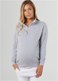 Legoe - Zip Collar Sweat