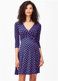 Leota - Eclipse Perfect Wrap Mini Dress - ON SALE