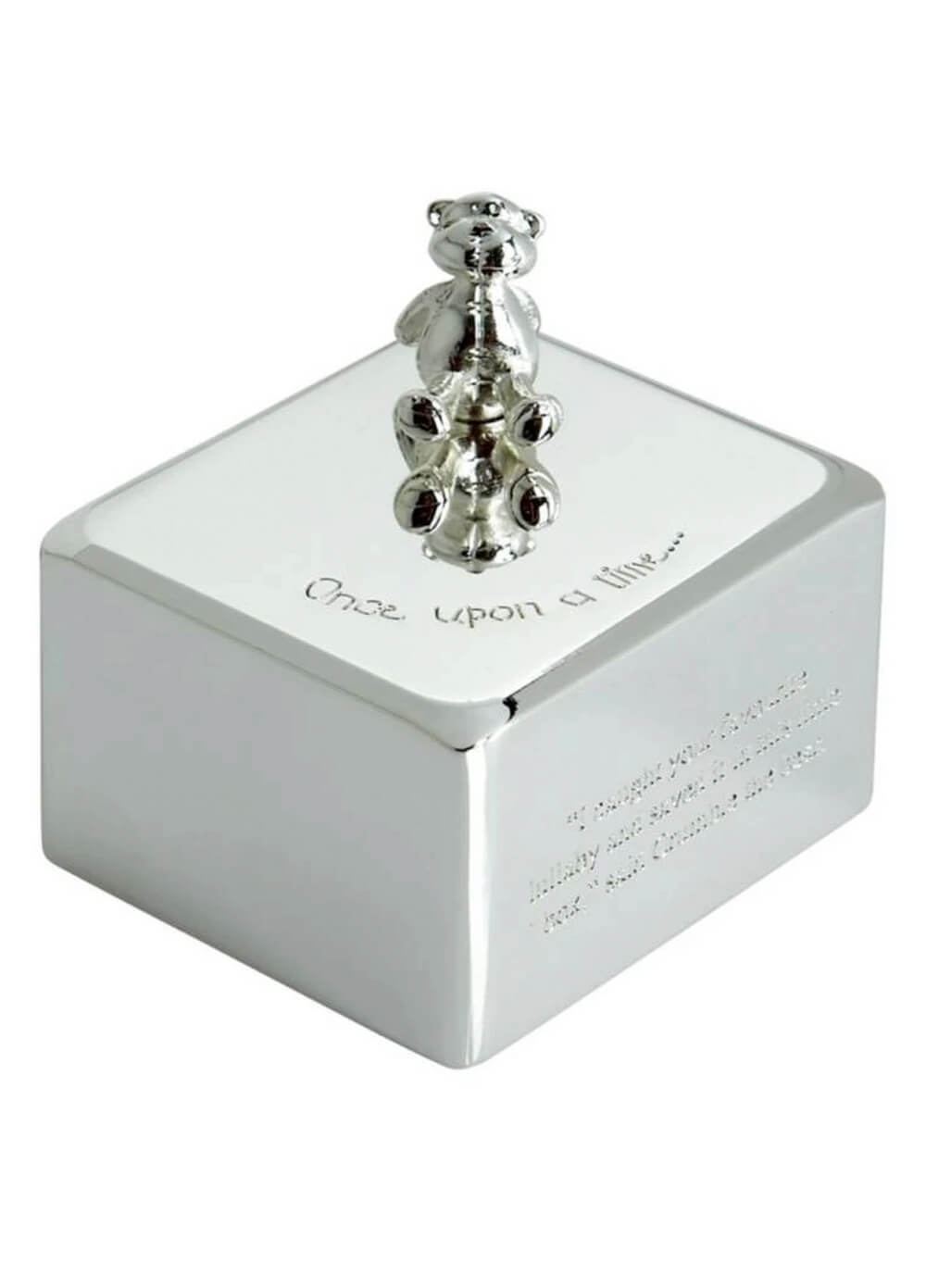 Mamas & Papas - Once Upon a Time Silver Plated Music Box