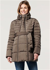 Noppies - Bradford Quilted Winter Coat w Belt in Chocolate
