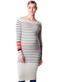 Noppies - Paris Striped Knit Midi Dress