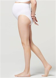 Noppies - Seamless Over Belly Briefs in White
