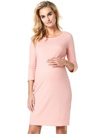 Noppies - Zinnia Textured Ribbed Dress in Peach
