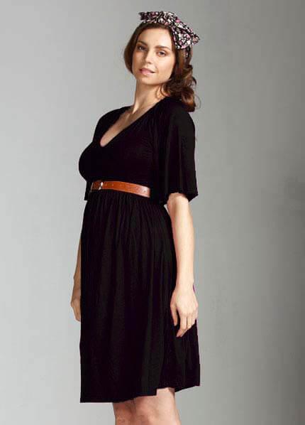 Queen Bee Paige Maternity Dress by Milky Way Nursingwear