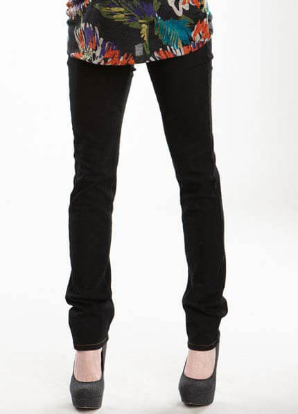 Queen Bee Black Skinny Maternity Jeans by Maternal America