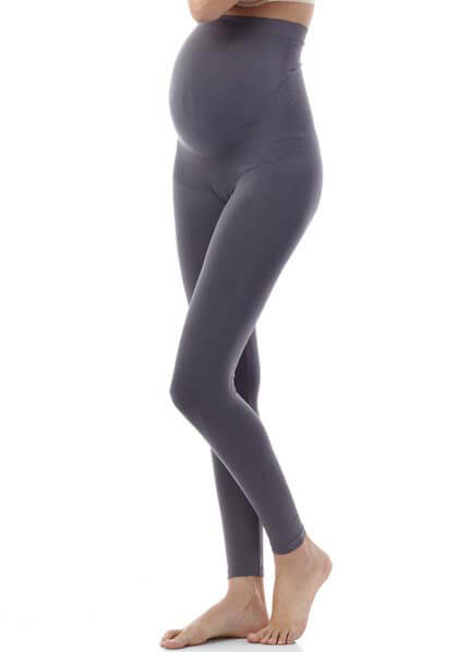 Queen Bee Grey Maternity Leggings by Seraphine