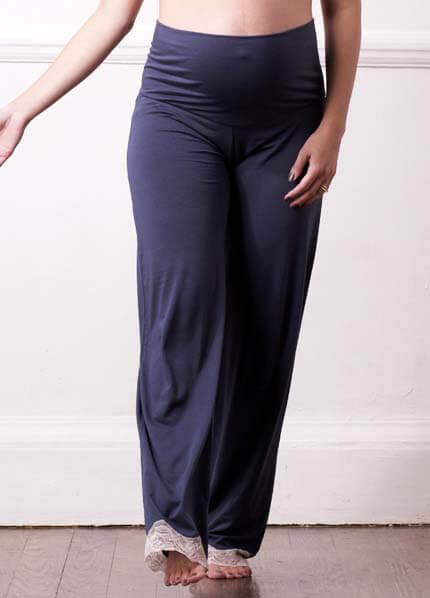 Queen Bee Mood Indigo Maternity PJ Pants by Lovable